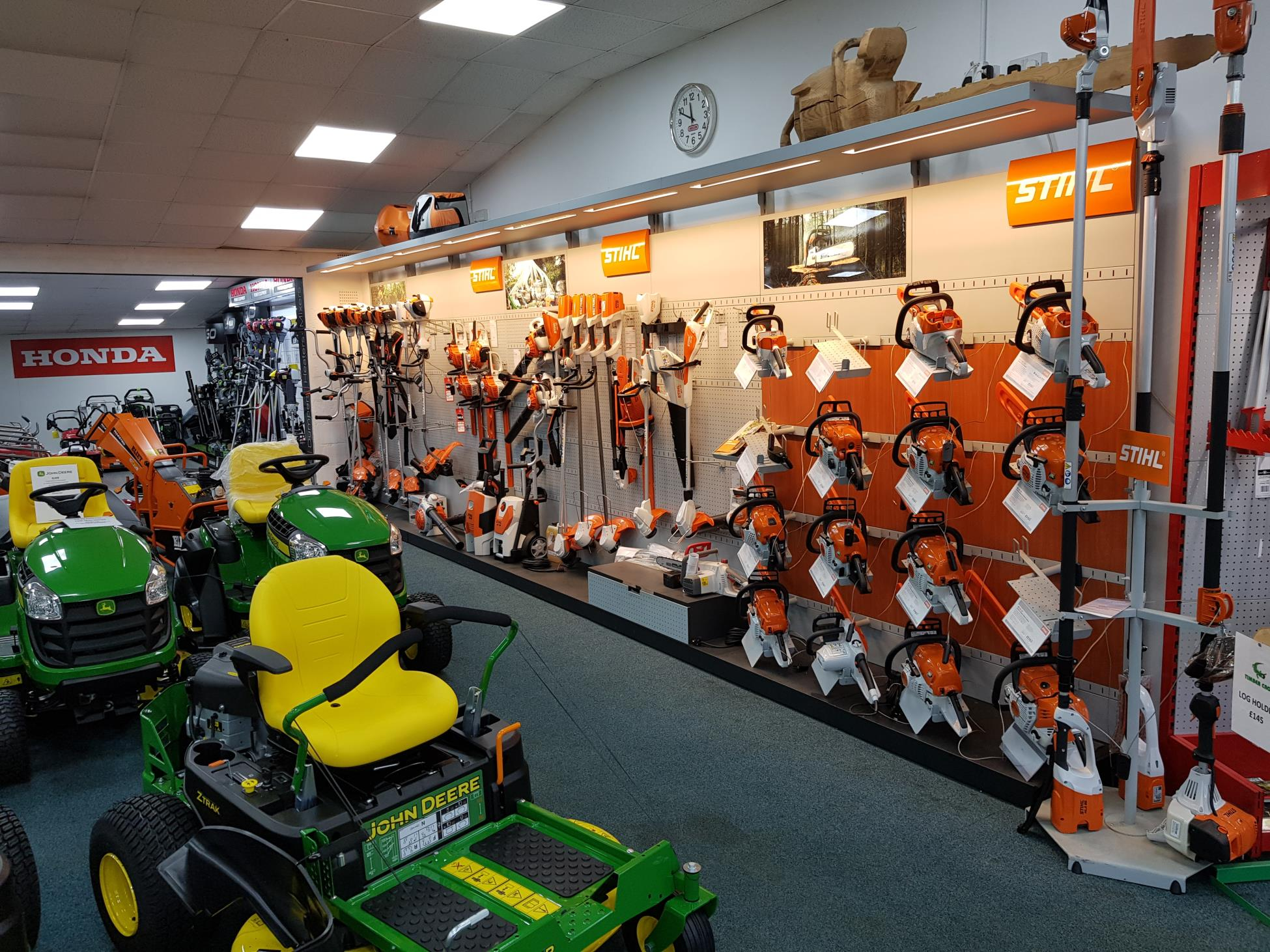 Garden machinery shop in Chippenham