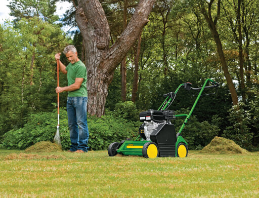 petrol scarifiers from John Miller Garden Machinery