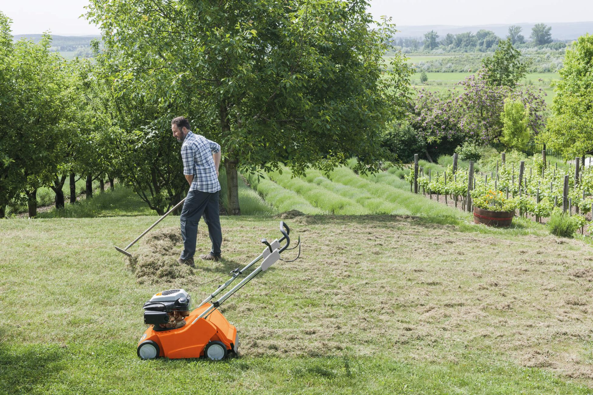 Stihl scarifiers from John Miller Garden Machinery