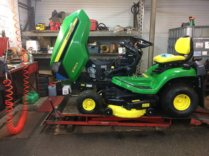 The benefits of garden machinery servicing