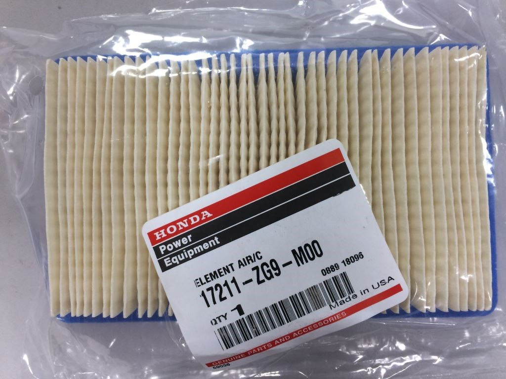 17211-ZG9-M00 Honda Air Filter