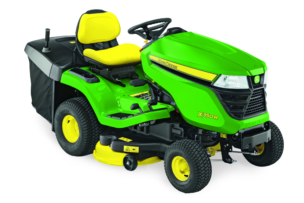 John Deere X350R Ride-on tractor lawnmowers