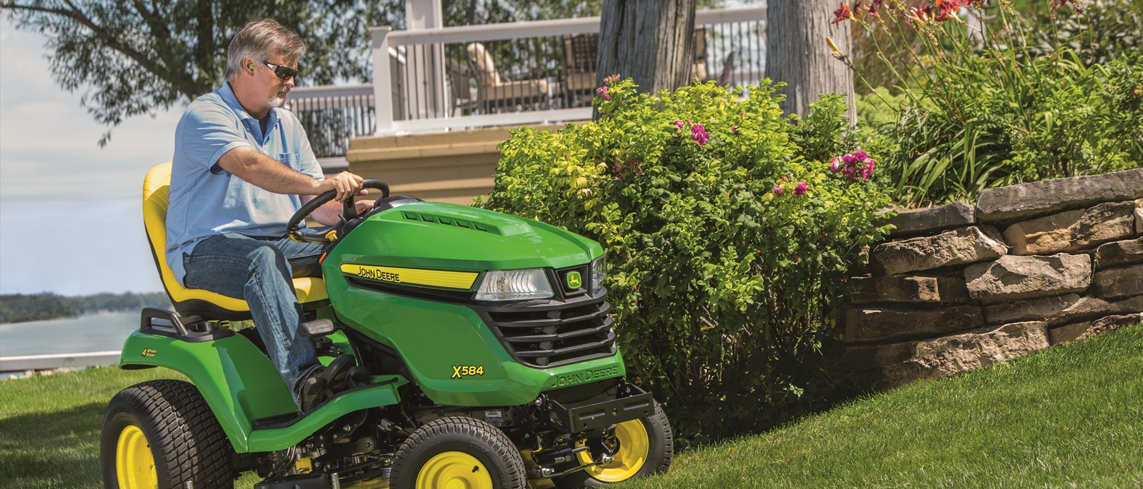 Ride-on mowers makes mowing a breeze